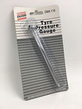 Duco Pocket Tyre Pressure Gauge Angled Head NEW