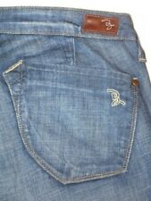 Brown Label Uptown Jeans Full Leg Flare Stretch 29 $210