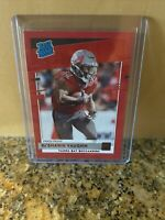 2020 PANINI DONRUSS KE'SHAWN VAUGHN RATED ROOKIE RED PARALLEL PRESS PROOF SSP