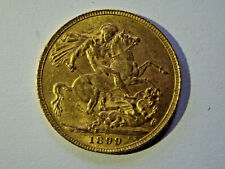 More details for 1899 full gold sovereign - p (perth)