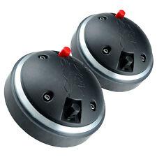 """Pair PRV Audio D290Py-B 1"""" Polyimide Horn Compression Driver 8 Ohm 2/3-Bolt"""