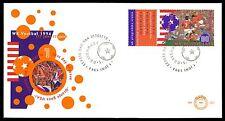 NIEDERLANDE FDC 1994 FUßBALL FOOTBALL FUTBOL SOCCER ORANJE USA bv42