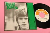 """DAVID BOWIE 7"""" 45 LOVE YOU TILL .. UNOFFICIAL PRESS MINT UNPLAYED TOP !!!"""