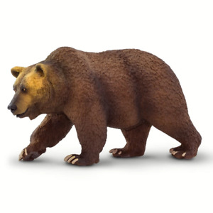 Safari Ltd Grizzly Bear Wildlife Wonder, #SAF100274