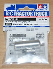 Tamiya 56552 Aluminum Center Air Tank (Volvo FH12/Scania/Actros/Arocs/MAN), NIP