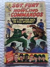 Sgt Fury and His Howling Commandos #22 ORIGINAL Vintage 1965 Marvel Comics rough