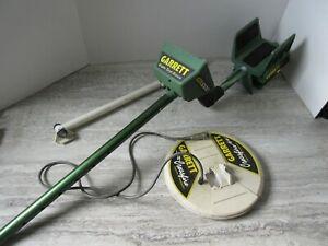 """Garrett GTA 1000 Power Master Metal Detector 8 1/2"""" Crossfire Coil Parts Repair"""