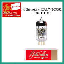 New 1x Genalex Gold Lion 12AU7 / ECC82 | One / Single Tube