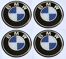 BMW  Wheel Centre Hub Caps Badge Emblem Stickers 55mm  - Set of 4