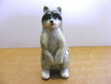Klima Raccoon Standing Up Miniature Animal Figurine Wildlife