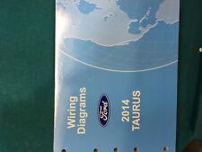 brand new 2014 ford taurus wiring diagram dealer shop service manual