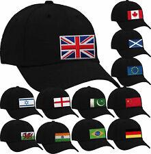 Gorra De Béisbol Bordado en todos los países Mundo Banderas Banderas-Casual, Deportes, Patriot