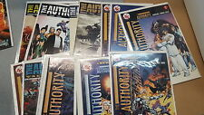 Alternative Comic lot the authority 0 1-14 revolution 1 2 nm bagged boarded