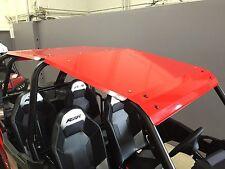 RED Aluminum Roof fits Polaris RZR 1000 4 Door Also fits 2015+ RZR-4 900 / Turbo