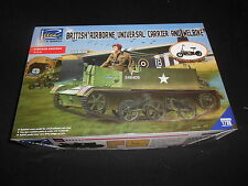 RIICH RV35034, 1/35 BRITISH AIRBORNE UNIVERSAL CARRIER W/BIKE  PLASTIC MODEL KIT