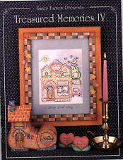 Treasured Memories IV - Decorative Painting Pattern Book Nancy Farrow 1994