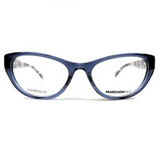 e3346a55be3b MARCHON NYC Downtown Montgomery Eyeglasses RX Frame 412 Navy Crystal  54-18-140