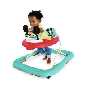 Disney Baby Mickey Mouse Baby Walker Activity Station Happy Triangles Infant Fun
