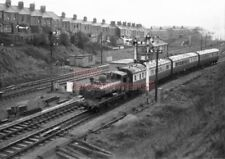 PHOTO  GWR LOCO  3767 AT GAER JCT WITH A BRECON-NEWPORT 11TH MARCH 1959