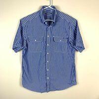 RM Williams Stockyard Short Sleeve Relaxed Fit Shirt Size Men's XL