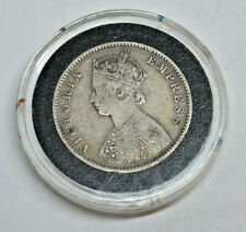 1897 B India Victoria One Half Rupee ONLY 560 Minted