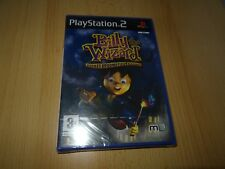 PS2 BILLY THE WIZARD - ROCKET BROOMSTICK RACING, UK PAL , NUOVO