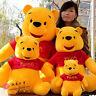 Winnie the Pooh Plush Soft Toy Stuffed Doll Kids Animal Figures Bear Teddy Gift