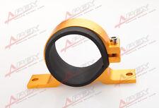 Bosch 044 Fuel Pump Bracket Anodised Single Billet Filter Clamp Cradle Golden