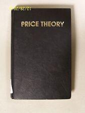 Price Theory by Milton Friedman