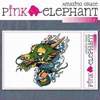 Aufkleber - Japanischer Drache 01 - dragon - japanese - sticker