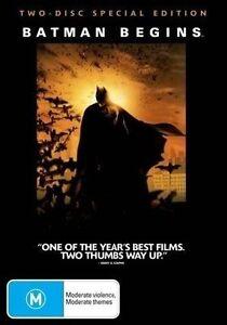 Batman Begins  ~ Special Edition (Region 4, 2 Disc DVD Set) *Free Postage*