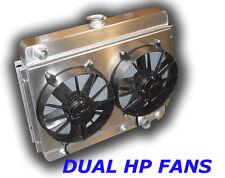1962 - 1967 Nova Aluminum Radiator HD Cooling DUAL FANS -
