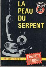 UN MYSTERE  701 LA PEAU DU SERPENT (JP CONTY) 1964