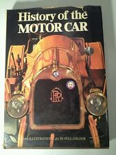 History of the Motor Car, Marco Matteucci (1970 Illustrated Hardcover) Free Ship