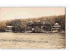 ST1962: ITHANELL HOUSE LAKE HOPATCONG NJ (Harris RPPC/postcard 1908 PM)