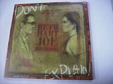 BETH HART / JOE BONAMASSA - DON'T EXPLAIN - LP VINYL NEW SEALED 2011