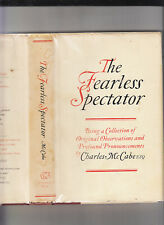 THE FEARLESS SPECTATOR-CHARLES MCCABE-1ST1970 SIGNED BY THE GREAT SF COLUMNIST