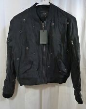 RAILS Ace Stars Studded Bomber Jacket Size XS