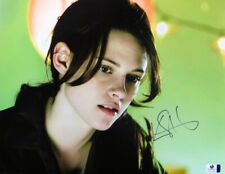 Kristen Stewart Signed Autographed 11X14 Photo Twilight Sexy Close-Up GV814569