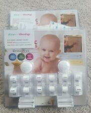 Eco-Baby Child Safety Magnetic Cabinet And Drawer Locks For Proofing - 2x12Pack