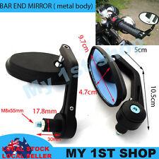 Bar End Mirrors Motorcycle Rear Side View Alumi alloy Honda yamaha ducati triump