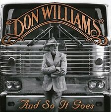 Don Williams - And So It Goes [New CD]