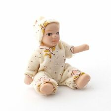 DOLLS HOUSE DOLL1/12th SCALE  MODERN TODDLER IN BABYGRO