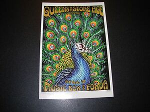 QUEENS OF THE STONE AGE Los Angeles 2005 Handbill Postcard Print poster Emek