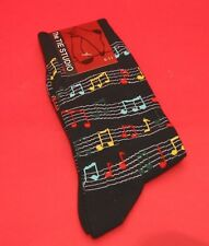 Colourful Sheet Music Men's Cotton Socks Teacher Musician Orchestra Music Gift