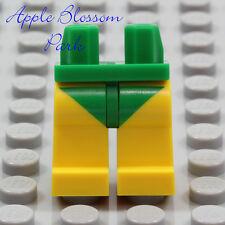 LEGO Green Swim Suit YELLOW MINIFIG LEGS Female Girl Bottom Boy Speedo Trunks
