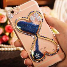 Girls Glitter Dynamic Quicksand Case Cover for HTC U Play/Ultra/U11/U11 Life