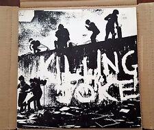 KILLING JOKE LP RECORD 1980 EG RECORDS LTD MALICIOUS DAMAGE LABEL PUNK ROCK