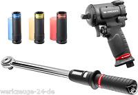 """Facom 1/2"""" Mini Llave de impacto aire comprimido dinamométrica Conjunto Tuercas"""