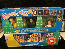 50th Anniversary Wizard of Oz Collectors Edition Turner 1988 Includes 6 Dolls